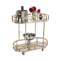 Brooklyn Drinks Trolley - Gold