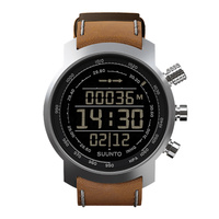 Suunto Elementum Terra Brown Leather Sports Watch (SS018733000)